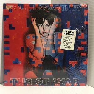 Paul McCartney : Tug Of War - Vinyl Lp OG Press